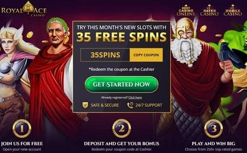 Royal Ace Casino Free Spins