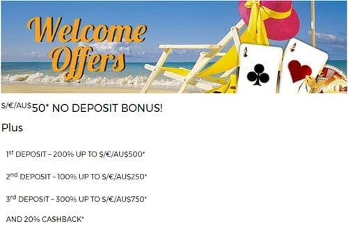 bonuses malibu club online casino