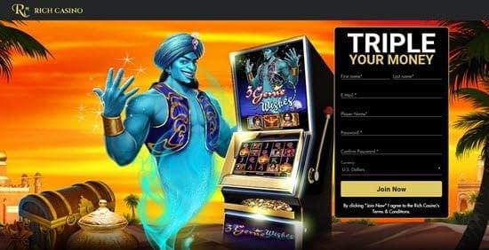 bonus rich casino