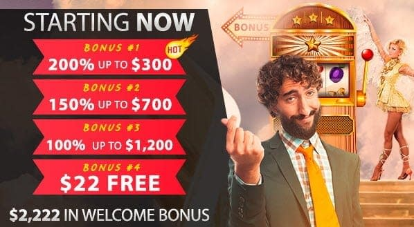 lucky club casino bonuses up to $2222