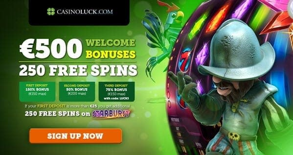 casino luck bonus codes