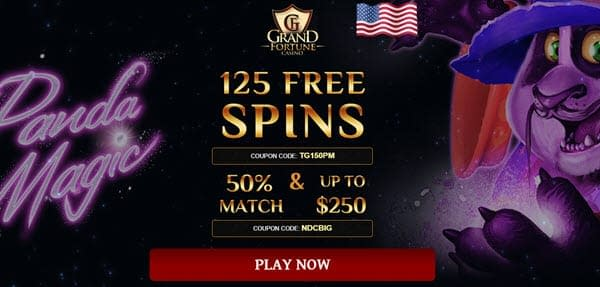 grand fortune casino free spins