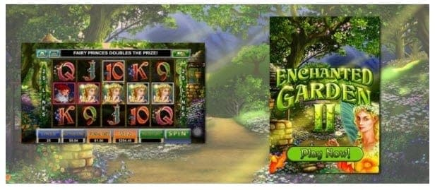 golden euro casino bonus enchanted garden II