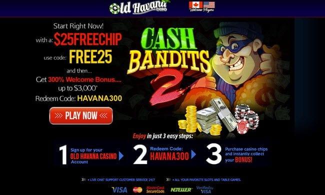 casino old havana bonus