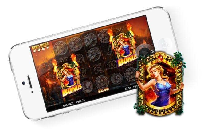 king kong fury slot mobile