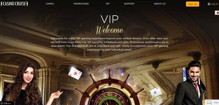 vip casino cruise