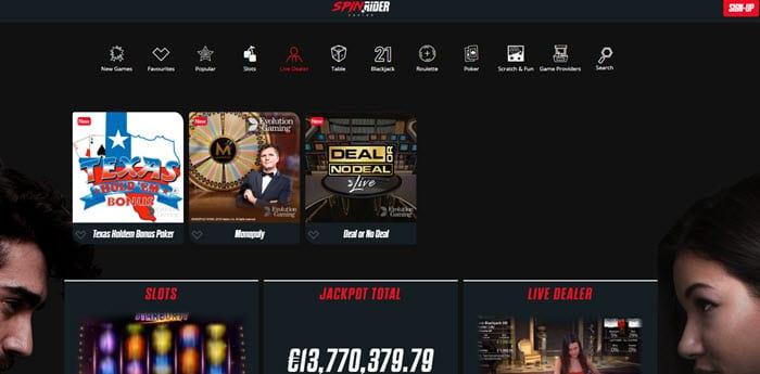 SpinRider Casino