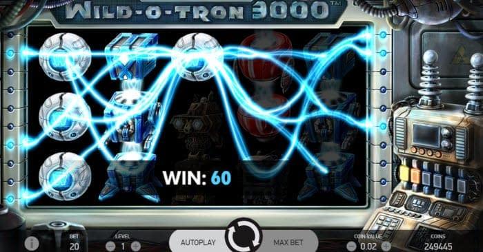 wild o tron 3000 slot review