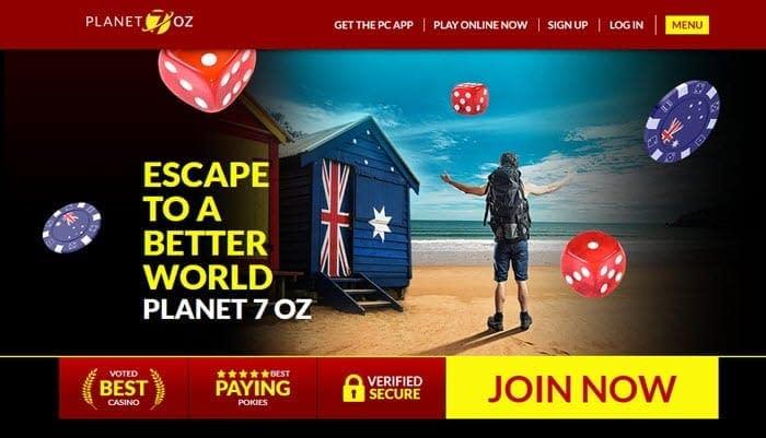 Planet7 Oz Casino