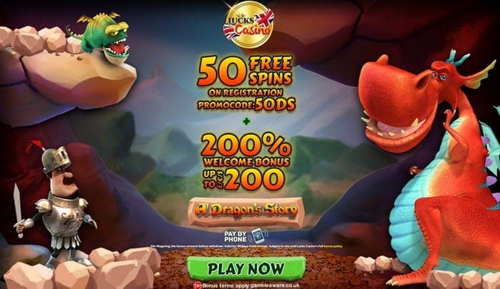 lucks casino dragon's story slot bonus