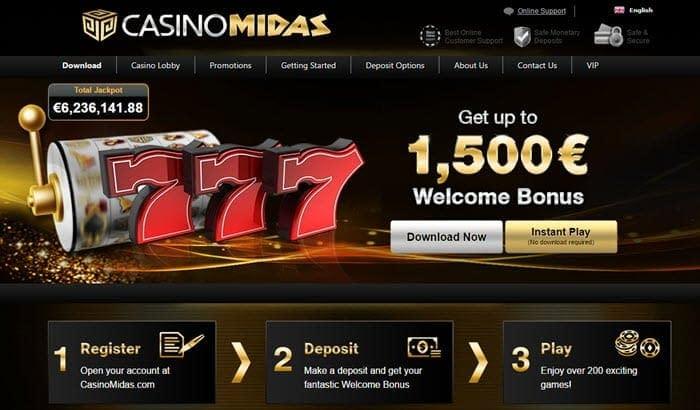 casino midas bonus promo
