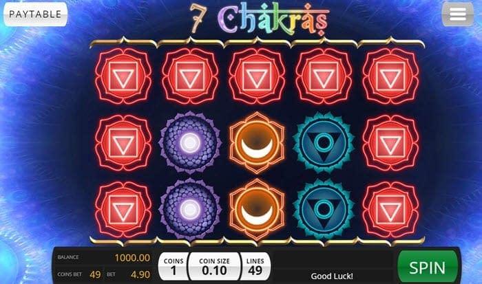 7 Chakras Slots
