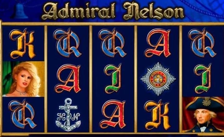 Admiral Nelson slot