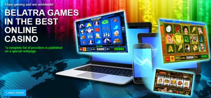 Belatra Games Software online casino