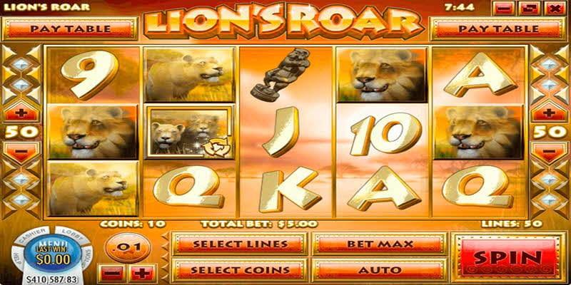 lion road slots lv