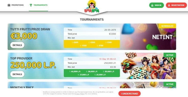 BoaBoa Casino slots