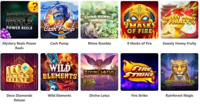 Dreamz Casino Games