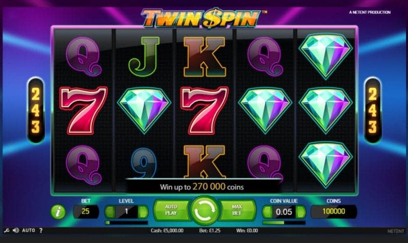 Twin Spin Slot Uk