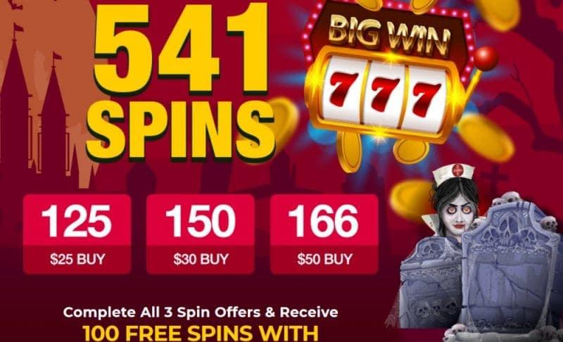 halloween casino bonus 2019