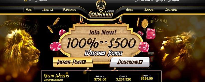 GoldenLion Casino Affiliate Program
