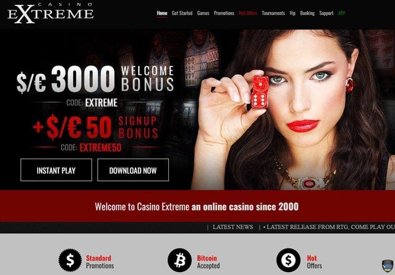 Casino Extreme No Deposit Bonus Codes 2019