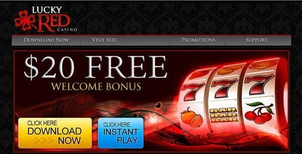 Lucky Red Casino No Deposit Bonus