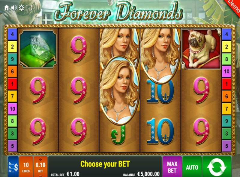 Spiele Forever Diamonds - Video Slots Online